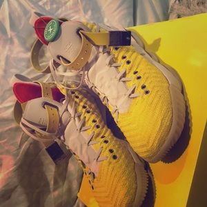 Shoes - Bright yellow Lebron 16 HFR